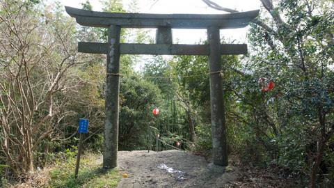 淡島神社の鳥居