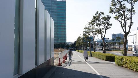 横浜BLITZ跡地前