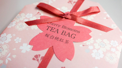 桜白桃紅茶