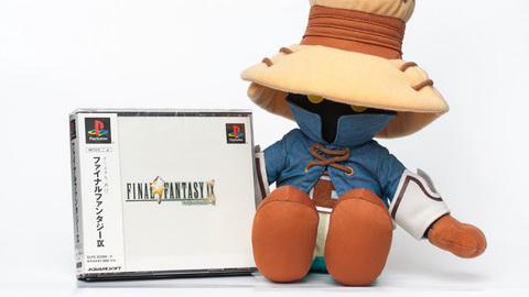 FINAL FANTASY IX とビビ人形