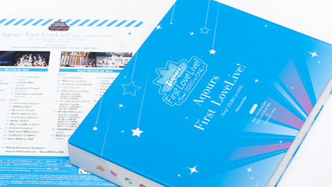 「Aqours First LoveLive! ~STEP ZERO to ONE~」Blu-ray Memorial BOX