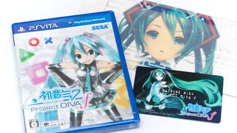 初音ミク - Project DIVA f
