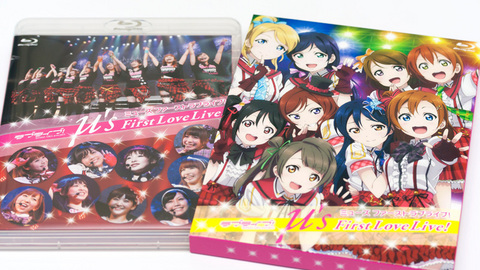 μ's First LoveLive! Blu-ray