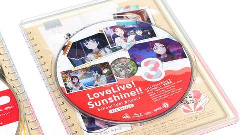 「ラブライブ!サンシャイン!! 2nd Season」Blu-ray第3巻