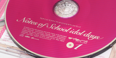 Notes of School idol days Disc1